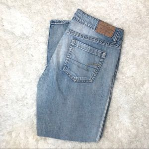 American Eagle Women's Distressed Hipster Jeans